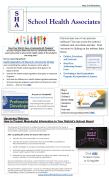 School Health Associates LLC May Newsletter